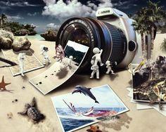 Die zahlreichen Vorteile der professionellen Fotokamera - http://freshideen.com/gadgets/fotokamera.html