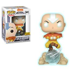 Funko Pop Avatar Aang Airscooter Hot Topic Exclusive Glow Chase Bundle NEW. Avatar Aang, Avatar The Last Airbender, Funko Pop Marvel, Marvel Avengers, Funk Pop, Funko Figures, Vinyl Figures, Funko Pop List, Armadura Cosplay