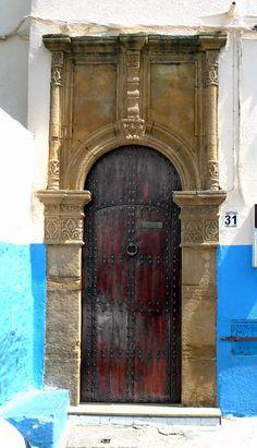 Moroccan doors photo by Noela Mills