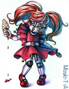 Lil CircusBaby / FNaF SL by Mizuki-T-A.deviantart.com on @DeviantArt