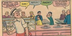 Archie and the gang at Riverdale High, The Snow Day, 1974.
