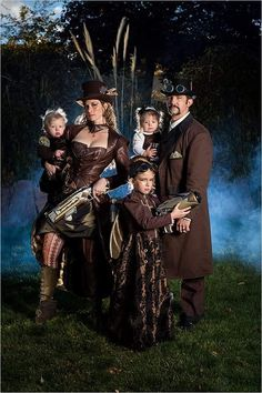 A SteamPunk Family. . .