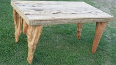 Pecky cypress and cypress knee table I built