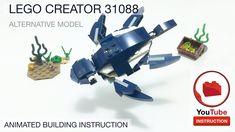Lego Creator, The Creator, Artwork For Home, Lego Models, Lego City, Bricks, Spiderman, Animation, Sea