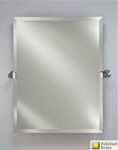 bath bathroom mirrors on pinterest polished brass. Black Bedroom Furniture Sets. Home Design Ideas