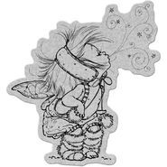 Penny Black Cling Rubber Stamp Fairy Stardust
