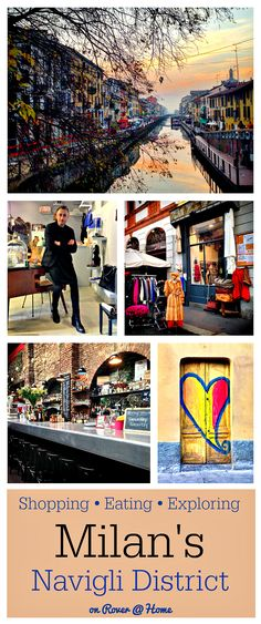 Exploring the Restaurants, Shops, Bars, Galleries and more of Milan's Navigli District - one of the hippest neighborhoods in Italy - filled with fashion, art, food, drink and more. This is where you should be shopping and dining!