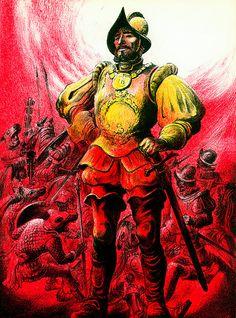 conquistador--Hernán Cortez