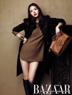 Min Hyorin for Harper's BAZAAR Korea (Photo: Naver)