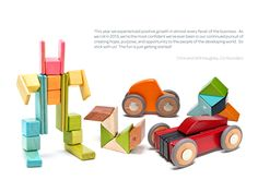 Discover the creative joy of magnetic wooden building blocks from Tegu. The familiar warmth of wooden toys and the magic of magnets make Tegu blocks the first kids wooden toys in history that defy gravity and inspire new creations as you play! Annual Report Design, Cool Toys, Wooden Toys, Shapes, Products, Wooden Toy Plans, Wood Toys, Woodworking Toys, Gadget