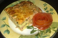 Retete Culinare - Budinca de cartofi cu carne Meatloaf, Lasagna, Quiche, Pizza, Breakfast, Ethnic Recipes, Desserts, Lasagne, Meat Loaf