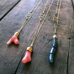 Chan Luu Leather And Bead Necklace Natural Jewels