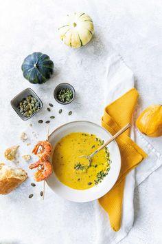 Pumpkin Recipes, Soup Recipes, Dinner Recipes, Healthy Recipes, Healthy Food, Pumpkin Spice Bread, Pumpkin Granola, Savoury Dishes, Allrecipes
