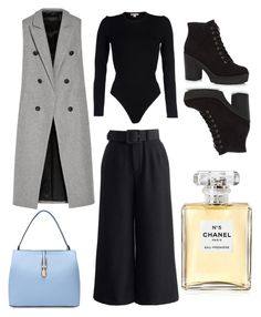 """outfits for job ☑"" by carolvogue-8 ❤ liked on Polyvore featuring moda, Chicwish, rag & bone, Michael Kors ve Chanel"