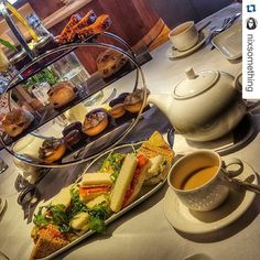Afternoon is served daily from 2pm-6pm call us on 01565 650333 to book your table #afternoontea #tea #knutsford #Cheshire #foodporn image: @nixsomething