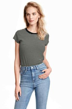 Buy Daisy Street T-Shirt With Rainbow Embroidery In Stripe at ASOS. With free delivery and return options (Ts&Cs apply), online shopping has never been so easy. Get the latest trends with ASOS now. Asos, Daisy, Glamour, T Shirt Vest, Stripes Fashion, Outfit Goals, New Outfits, Shirt Blouses, Beautiful Outfits