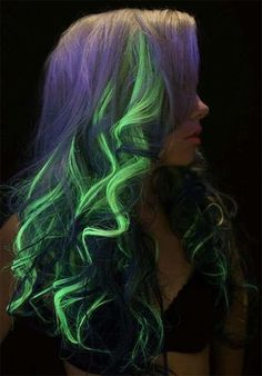 Trend Hairstylel Glow-In-The-Dark Phoenix Hair Is the New Hair Color Trend,Glowing neon hair is the latest full on development that nobody actually knew they wanted till they noticed it. Once it was seen, it was on the scene ...