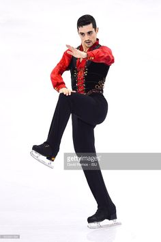 Javier Fernandez of Spain performs during the Men short program final during day one of the ISU Grand Prix of Figure Skating Final 2015/2016 at the Barcelona International Convention Centre on December 10, 2015 in Barcelona, .