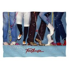"""Checkout our #LicensedGear products FREE SHIPPING + 10% OFF Coupon Code """"Official"""" Footloose/Loose Feet (Front/Back Print)-Pillow Case-White-One Size - Footloose/Loose Feet (Front/Back Print)-Pillow Case-White-One Size - Price: $29.99. Buy now at https://officiallylicensedgear.com/footloose-loose-feet-front-back-print-pillow-case-white-one-size"""