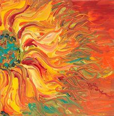 Fiery sunflower