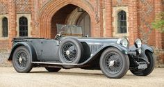 A rather exceptional and unrestored 1928 Mercedes S Type was discovered in a garage and will be worth about £1,500,000 as it is put up for auction at Bonhams' Goodwood Revival sale on September 15. This super car is still in working condition despite lying unused for the past 60 years. It was last driven in the early 1950s and has since then remained untouched in the owner's garage.