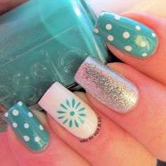 Cute And Easy Nail Art Designs That You Will Love – Nail Polish Addicted Get Nails, Fancy Nails, Love Nails, Pretty Nails, Simple Nail Art Designs, Best Nail Art Designs, Easy Nail Art, Awesome Designs, Nagellack Design