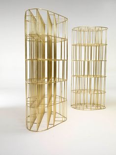 Gold fever stage 1  - Golden cage by Vincenzo de Cotiis /// Interiorator