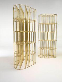 Gold fever stage 1  - Golden cage by Vincenzo de Cotiis /// Interiorator