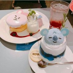 Find images and videos about food, dessert and kawai on We Heart It - the app to get lost in what you love. Bts Cake, Kawaii Dessert, Cute Desserts, Japanese Sweets, Japanese Snacks, Cafe Food, Aesthetic Food, Cute Cakes, Korean Food