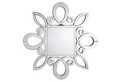 Snowflake Mirror on OneKingsLane.com