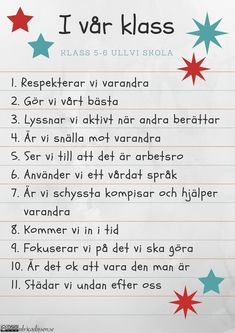 I-vår-klass-cc. Classroom Behavior, Classroom Management, Learn Swedish, Swedish Language, Teaching Schools, English Verbs, School Decorations, Classroom Inspiration, Preschool Worksheets