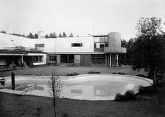 Gustaf Welin's photograph of Alvar Aalto's Villa Mairea, Finland, 1938/9