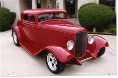 custom hot rod designs | 1932 FORD 3 WINDOW CUSTOM COUPE - 43563