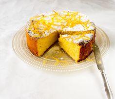 Juicy almond-orange cake (recipe in Estonian) Estonian Food, Paris, Cornbread, Cake Recipes, Almond, Cooking Recipes, Treats, Ethnic Recipes, Sweet