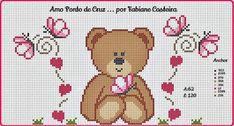 Coisinhas da Renata: Toalhas Bordadas em Ponto Cruz...