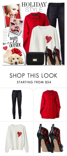 """""""Leather Pants"""" by mada-malureanu ❤ liked on Polyvore featuring J Brand, Neil Barrett, Leather, Sheinside, holidaystyle and shein"""