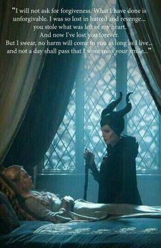 Maleficent is my favorite Disney villain. Disney And Dreamworks, Disney Pixar, Walt Disney, Disney Love, Disney Magic, Evil Disney, Maleficent Quotes, Maleficent 2014, Maleficent Movie