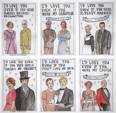 Downton love!