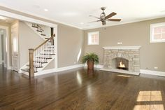 Johnson project - eclectic - kitchen - chicago - by Greenside Design Build LLC Benjamin Moore grant beige