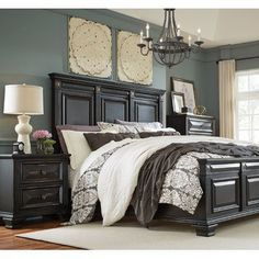 Darby Home Co Petronella Panel Customizable Bedroom Set