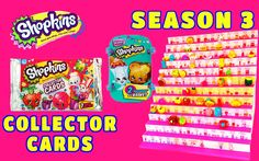 Toy Box Magic - We have some super cool Shopkins Trading Cards here, as well as a shopkins season 3 blind basket surprise basket that we open to try to complete our collection of Season 3 Shopkins!