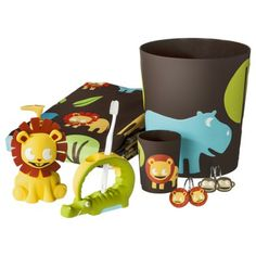 Circo Jungle Bath Collection For Kids Bathroom
