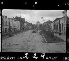 Гатчина. ул. Советская. 1941 год