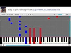 Taylor Swift - Begin Again (Red album) - Piano Tutorial - YouTube