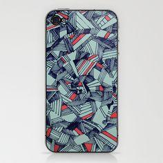 Spiraling iPhone & iPod Skin by S.G.D. - $15.00    http://society6.com/SamanthaDeCarlo/Spiraling-pzt_Phone-Skin