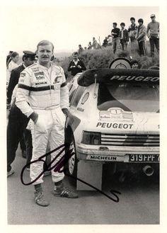 Peugeot 205 T16 and Juha Kankkunen