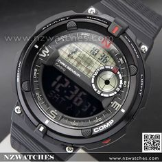 Casio Out Gear Digital Compass Thermometer Sport Watch SGW-600H-1B e9f8d24e9