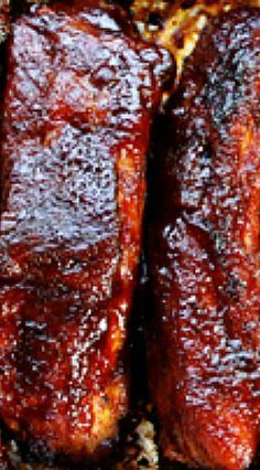 Fall-Off-The-Bone Ribs - bardak Pork Back Ribs Oven, Babyback Ribs In Oven, Easy Oven Baked Ribs, Dutch Oven Ribs, Ribs Recipe Oven, Baked Bbq Ribs, Bbq Baby Back Ribs, Ribs On Grill, Beef Ribs