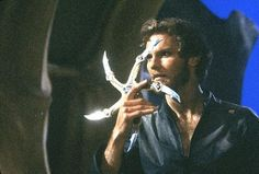 Krull.. I'm pretty certain I wanted both the guy and that shiny thing:)