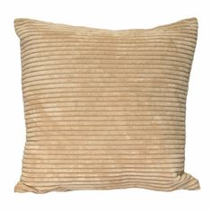 Beautifully stylish, the beige Corduroy cushion from Paoletti brings an added element of structure and fashion.